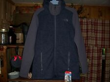 NORTH FACE LADIES HOODED PARKA JACKET SIZE MEDIUM COLOR GRAY ZIPPER FRONT NEW