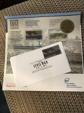 Us Postage Stamps Limited Edition Civil War 1861 W/1St Day Issue Sealed 2011