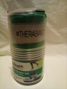 Thera -Band Ankle & Wrist Weight Set 3 lb - 1.5 lb each set