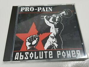 PRO-PAIN - ABSOLUTE POWER - CD - Hardcore Rock Metal Blood For Blood oi front
