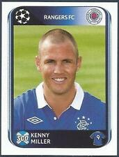 PANINI UEFA CHAMPIONS LEAGUE 2010-11- #189-RANGERS & SCOTLAND-DERBY-KENNY MILLER