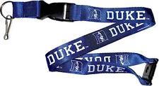 Duke Blue Devils Lanyard Team Logo Lanyard with Keychain Clip