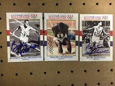 Bobby Joe Morrow Signed 1991 Impel US Olympic Hall of Fame Card