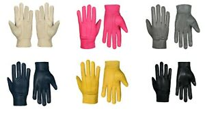 Ladies Leather Gloves Fleece Lined Winter Casual Driving Warm Outdoor Casual New