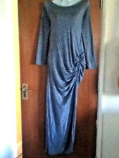 BNWOT**RIVER ISLAND**LOVELY LADIES DIP SPLIT STRETCH EVENING DRESS**