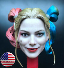 1/6 Harley Quinn Head Sculpt Prison Version Suicide Squad For PHICEN Figure USA