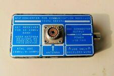 VLF/LF CONVERTER FOR COMMUNICATION RECEIVER 10KHZ - 500KHZ