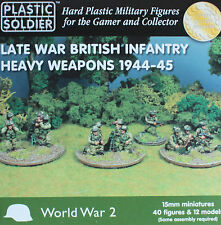 15mm WW2 Late War British Heavy Weapons 1944-45 by Plastic Soldier Company