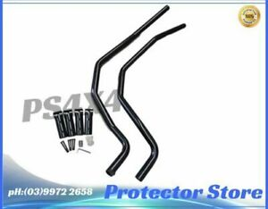 Brush Bars for Nissan Navara D22 2002-2014 Heavy Duty Steel