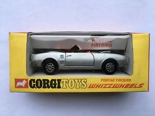 C1969-73 CORGI TOYS No343 PONTIAC FIREBIRD NEAR MINT BOXED TOY CAR
