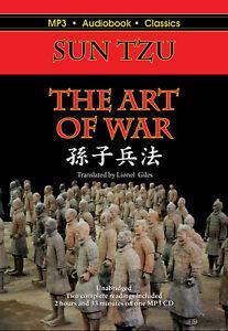 The Art of War - Unabridged MP3 CD Audiobook in DVD case