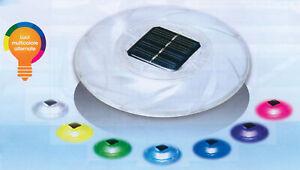 Bestway 58111 lampada solare galleggiante Ø 18 cm per piscina piscine con luci c