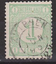 NVPH Netherlands Nederland nr 31 TOP CANCEL ZUTPHEN Cijfer 1876
