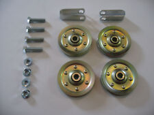 "Garage Door 3"" Pulley Set with Hardware - For Doors with Extension Springs"
