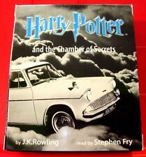Harry Potter & The Chamber Of Secrets 6-Tape UNABR.Audio Stephen Fry J.K.Rowling