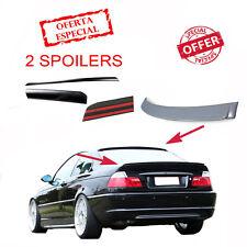 Aileron de Toit + Spoiler de Coffre pour BMW E46 Coupé M3 Arrière Adhésif 3M