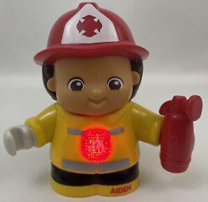 Vtech Go Go Smart Friends Fireman Aiden Talking Figure