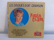 Les disques d or de la chanson PETULA CLARK C est ma chanson DOV01