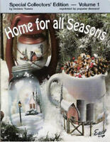 Home for all Seasons Vol. 1 Debbie Toews Painting Pattern Book NEW
