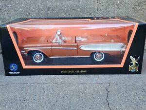 Road Signature 1958 Edsel Citation Convertible 1:18 Scale Die Cast Model Car