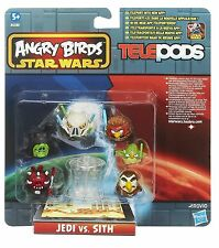 Angry Birds Star Wars Telepods Jedi vs Sith Multi-Pack Free shipping