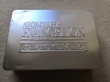 Neon Genesis Evangelion Platinum Metal Tin Box Vol 1-7 DVD Region 2 ADV Anime