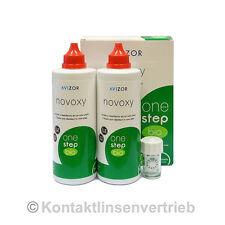 Avizor Novoxy One Step Bio - 2x350ml Lösung - 90 Tabl. - 1 Linsenbehälter