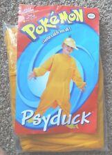 NEW Pokemon Go PSYDUCK Boys COSTUME 4/6 +CRACKED MASK Disguise HALLOWEEN Cosplay