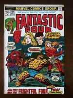 Fantastic Four 129 (1972) 1st. Thundra! Medusa! Frightful Four! J. Buscema Art!