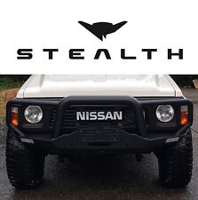 GQ Patrol Winch Bar Bull Bar -Stealth Touring- Ford Maverick Y60