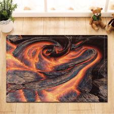 Door Mat Bathroom Rug Bedroom Carpet Bath Mats Rug Non-Slip Cooled magma