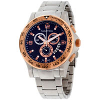 Nautica NST 600 Blue Dial Stainless Steel Men's Watch NAD22503G