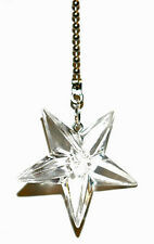 CLEAR ACRYLIC STAR CEILING FAN PULL (FP071)