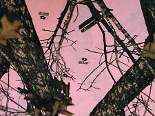 Pink Mossy Oak Break-Up Camouflage Nylon Fabric by the Yard - CAMO788