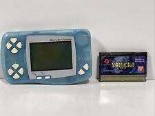 Bandai WonderSwan WS Console Blue SW-001 Tested 683