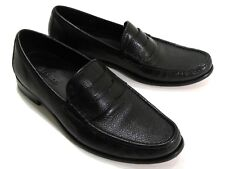 Cole Haan Air Aiden Pebbled Leather Penny Loafers Size 9M Black C08171 Very Nice