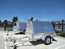 Loadmaxx 7x4 all aluminium builders trailer 750KG