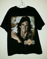 Fantastic VTG Souvenir 1995 BILLY DEAN Tour Dates Size XL Tee Shirt Cities Back