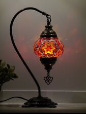 Turkish Mosaic Lamp Authentic Style Hand made