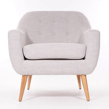 Ralph Arm Chair in Grey Limited Edition Hand Made Furniture Seating High Quality