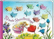 10 bunte Schmetterlinge (10er Stanze Minis) von Mennen, ... | Buch | Zustand gut