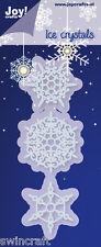 JOY CRAFTS Die Cutting & Embossing Stencil ICE CRYSTALS 6002/2054 *