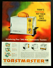 Vtg 1961 Toastmaster Toaster ad retro advertisement print ad