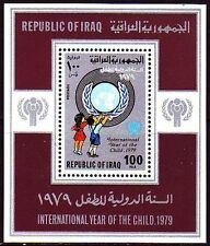 Irak Iraq 1979 ** Bl.31 Jahr des Kindes Year of the child UNO-Emblem