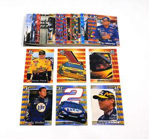 2001 Press Pass Stealth NASCAR Racing Card Set (72)