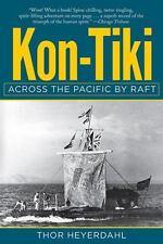Kon-Tiki : Across the Pacific by Raft by Thor Heyerdahl (1950, FIRST, HC No DJ)