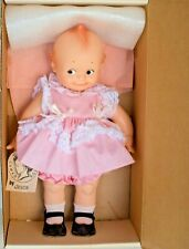 "1983 Jesco Rose O'Neill Cameo Kewpie 15"" Doll Pink Dress w/Lace #6102 New W/Box"
