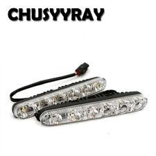 2X 6-SMD LED Daytime Running Light DRL Daylight Kit Fog Lamp Day Light Headlight