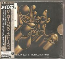 """THE ROLLING STONES """"Rolled Gold +"""" Japan 2CD + Obi Rare sealed"""
