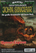 JOHN SINCLAIR ROMAN Nr. 2049 - Horror-Express - Jason Dark - NEU